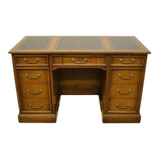 Sligh Lowry Furniture Walnut Executive Office Desk For Sale