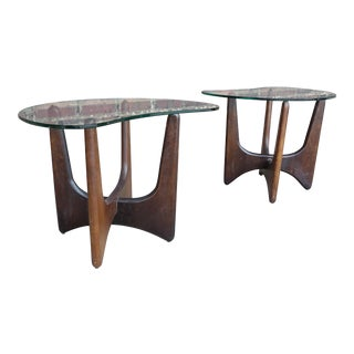 Mid-Century Modern Adrian Pearsall Side Tables - a Pair For Sale