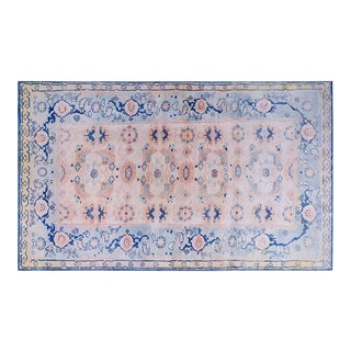 1900s Cotton Agra Rug - 4'x6' For Sale
