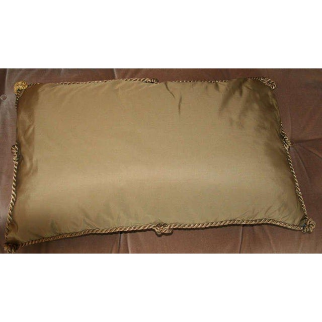 Early 20th Century Antique Fortuny Pillow For Sale - Image 5 of 5