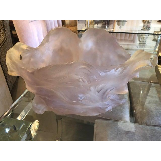 Art Deco Nouveau Pink Planter Vase Pot For Sale - Image 9 of 12
