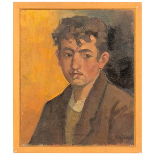 Oil Portrait of a Young Gentleman For Sale