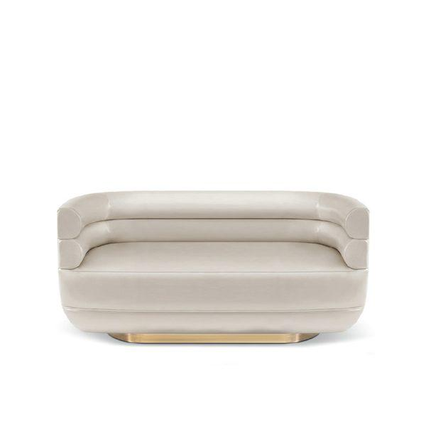 Contemporary Covet Paris Loren Tub Sofa For Sale - Image 3 of 3