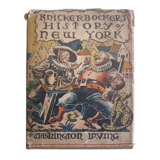 Knickerbocker's History of New York, Irving 1928 For Sale