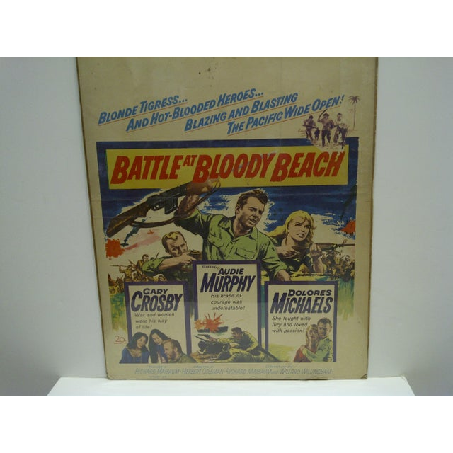 Americana 'Battle at Bloody Beach' Movie Poster For Sale - Image 3 of 4