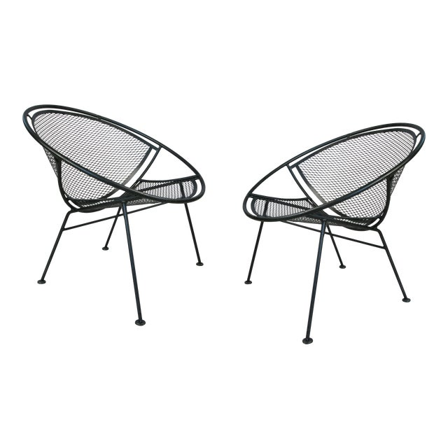 Salterini 'Radar' Collection Lounge Chairs by Tempestini- A Pair For Sale