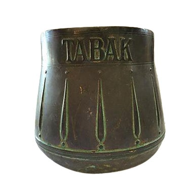 Brass Tabak Spittoon Vessel From Holland - Image 1 of 4
