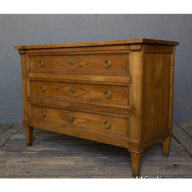 Neo Directoire Style Fruitwood Chest of Drawers - Image 2 of 10