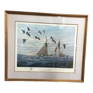 """Canadas & Skipjacks on the Choptank"" Nautical Art For Sale"