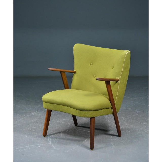 Danish Mid-Century Easy Chair in the Style of Madsen and Schubel - Image 2 of 9