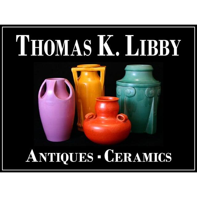 Arts & Crafts Huge Pickrull Zanesville Norwalk Pot Shop Urn Pottery Arts & Crafts Floor Vase For Sale - Image 3 of 12