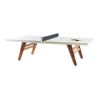 RS Barcelona Stationary Ping Pong Table, White For Sale
