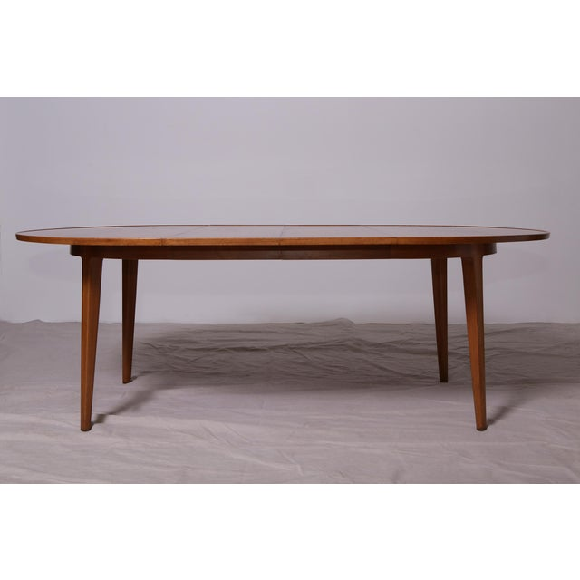 Bleached Mahogany Dining Table by Edward Wormley for Dunbar - Image 6 of 9