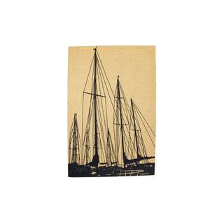 Marushka Sailboat Screenprint Wall Textile