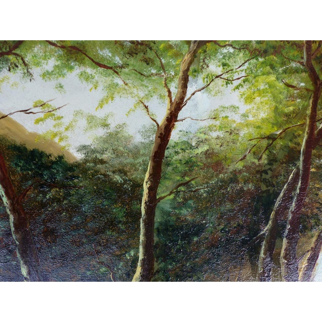 Landscape Oil Painting on Board - Image 7 of 10