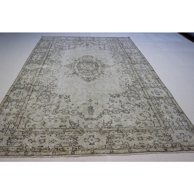 Oriental Overdyed Turkish Rug - 6′1″ × 9′8″ - Image 6 of 9