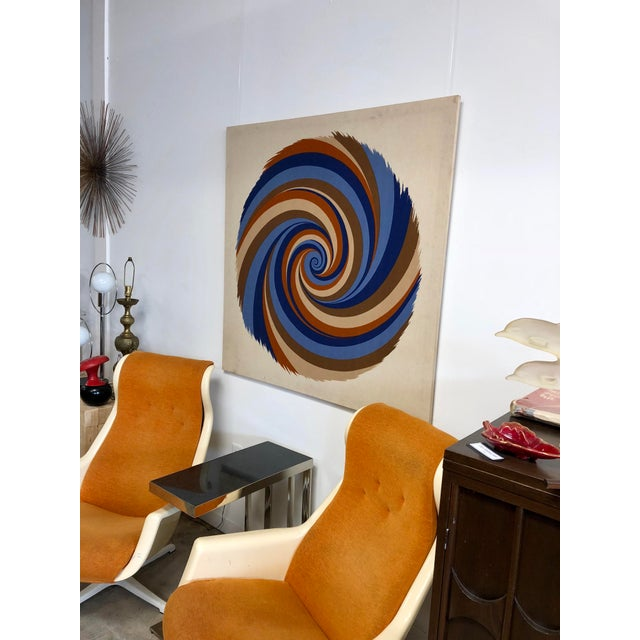 """Original Curry Melin """"Hurricane"""" Swiss Fabric Print For Sale In Charleston - Image 6 of 7"""
