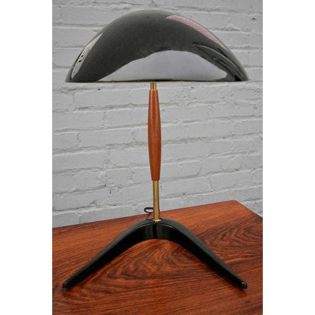 Lightolier Lightolier Black Metal Desk Lamp For Sale - Image 4 of 6