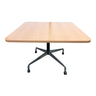 Mid-Century Modern Eames for Herman Miller Small Square Conference Table For Sale