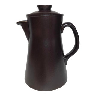 Lindberg for Gustavsberg Flameldfast Terma 7 Seeden Coffee Pot For Sale