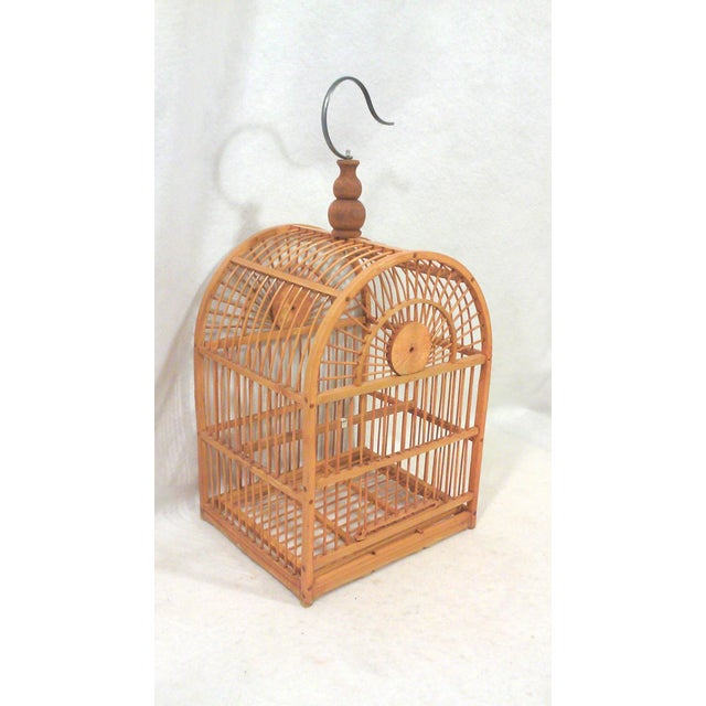Hanging Decorative Bird Cage - Image 2 of 5