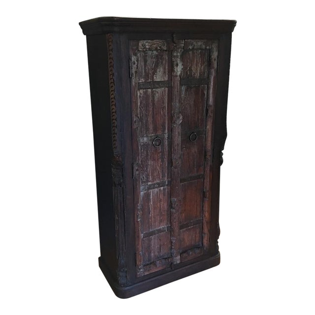 Handcrafted Tall Wooden Armoire by Buena Vista - Image 1 of 11