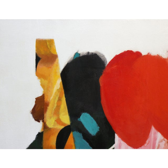 "2010s ""Artist Palette / Oranges"" Original Abstract Artwork by Brandon Neher For Sale - Image 5 of 10"