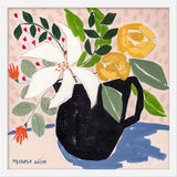 """Image of Small """"April Florals 3"""" Print by Marisa Anon, 20"""" X 20"""" For Sale"""
