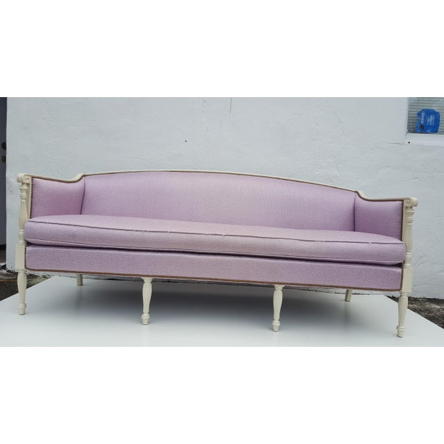 Vintage Hickory Chair Company Regency Style Sofa - Image 11 of 11