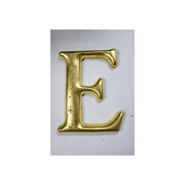 "Vintage English Pub Sign Letter ""E"" - Image 2 of 3"