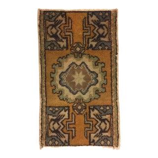Tribal Handmade Rug - 1′6″ × 2′5″