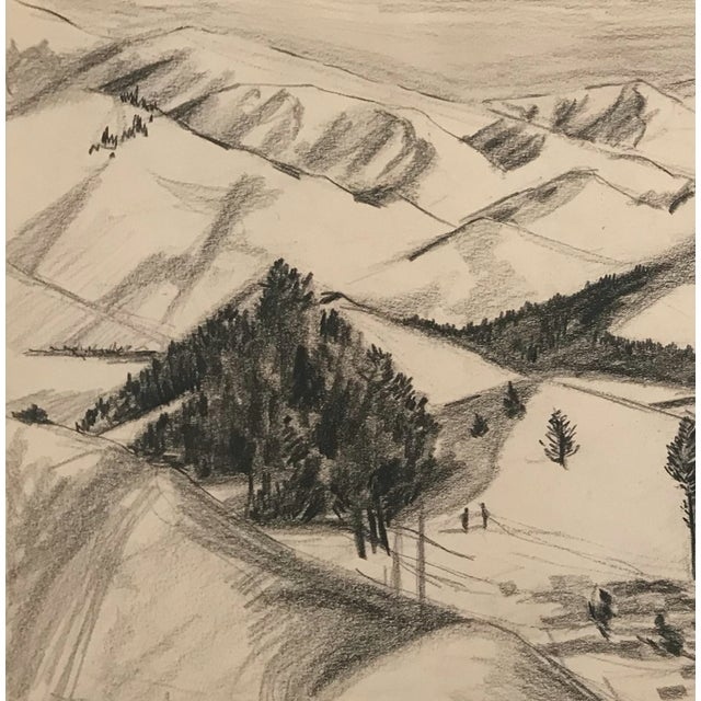 From a group of works by an unknown Kansas City, Missouri artist, c.1950-52