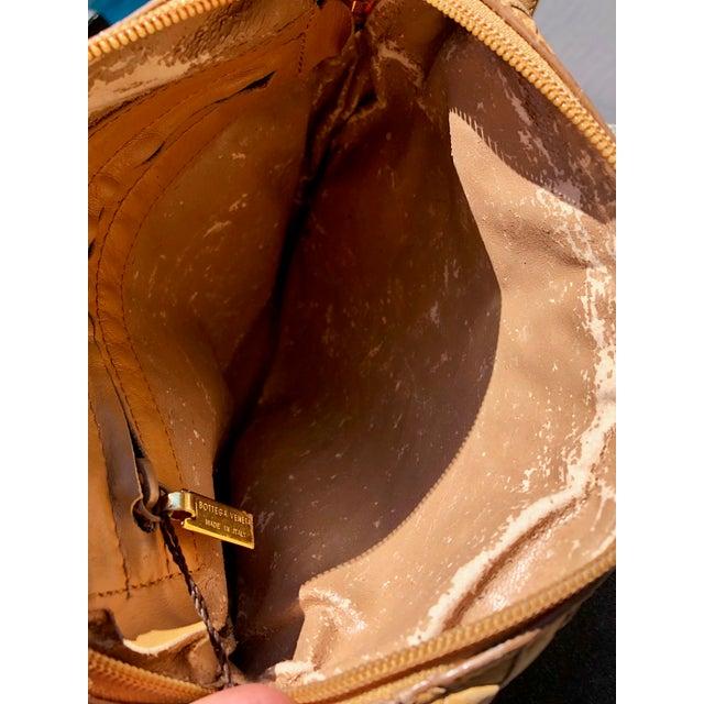 Bottega Veneta Intrecciato Tan Cross Body Bag For Sale - Image 9 of 10