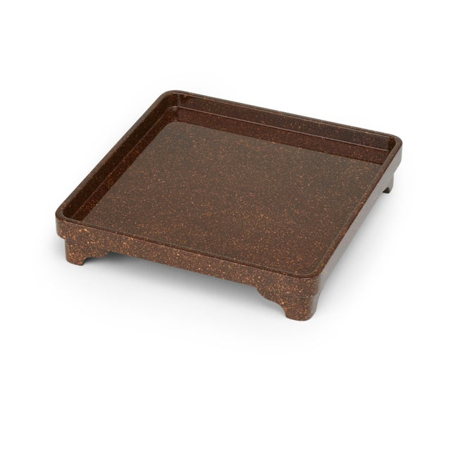 Contemporary Miles Redd Collection Chinese Riser in Porphyry For Sale - Image 3 of 3
