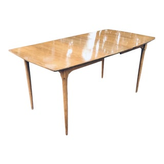 Vintage 1960s Mid Century Modern Drexel Dining Table For Sale