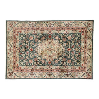 Vintage Persian Style Chinese AcCentury Rug With Traditional Design - 04'00 X 05'10 For Sale