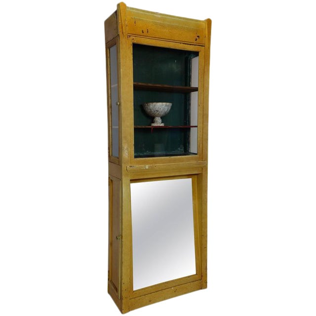 Painted Deco Boot Display Case For Sale