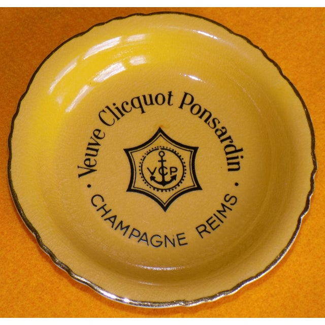 Vintage French Veuve Clicquot Plate - Image 2 of 8