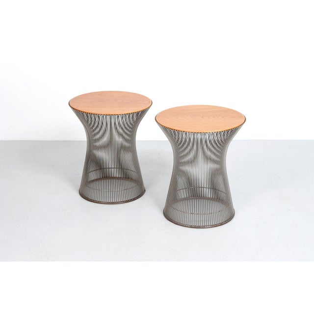 Pair of Side Tables by Warren Platner for Knoll For Sale - Image 11 of 11