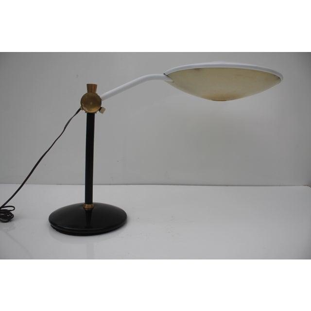 Lightolier Vintage Dazor Desk Lamp For Sale - Image 4 of 11