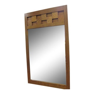 Paul Evans by Lane Mid-Century Brutalist Mirror For Sale