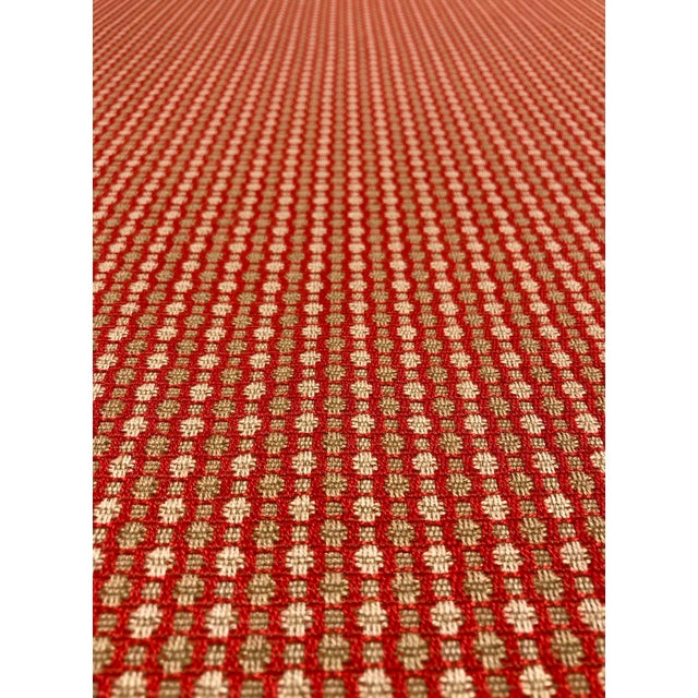 This upholstery fabric from Cowtan & Tout is a fun and modern upholstery grade fabric. The color is a bright coral with...