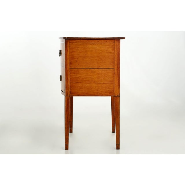 C. 1780 George III Satinwood Commode - Image 5 of 10
