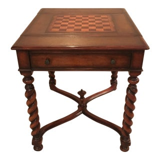 William and Mary English Style Game Table For Sale