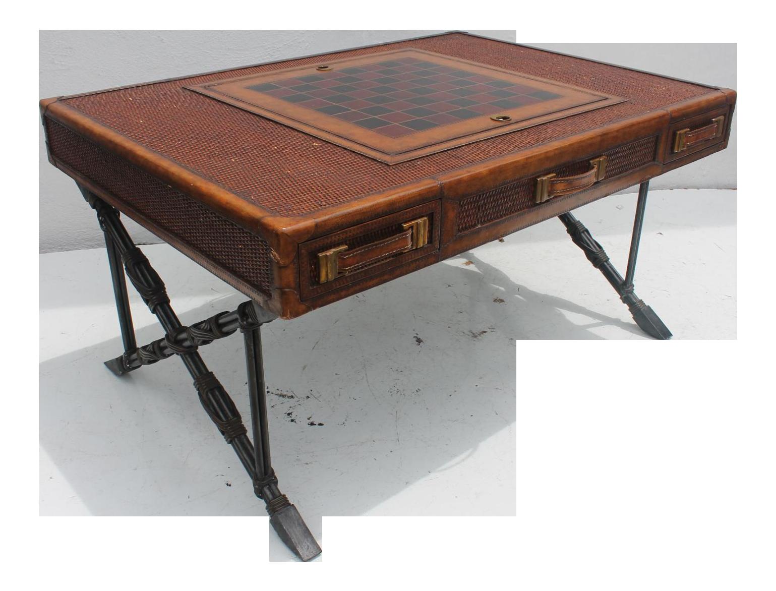 Good Maitland Smith X  Base Game Coffee Table
