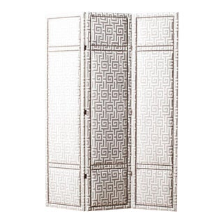 Brienne Upholstered Panel Screen For Sale