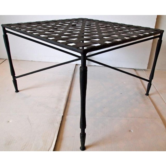 Mid-Century Modern Garden Coffee Table - Image 9 of 10