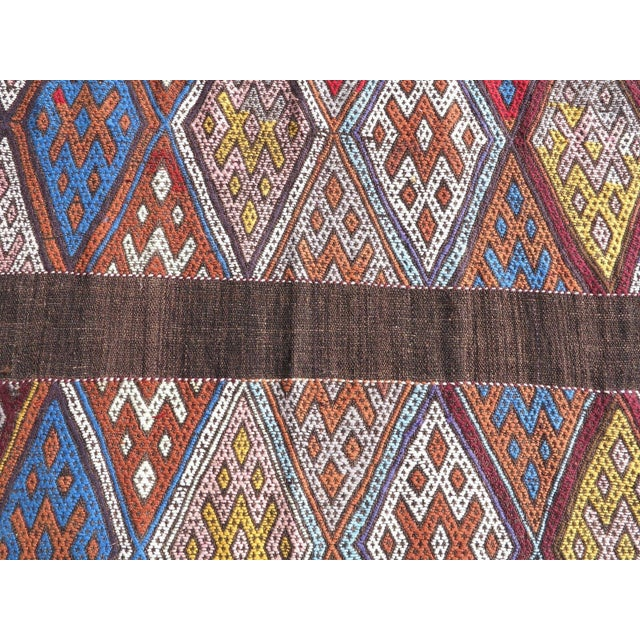 "Oversized Kilim Runner Rug - 4' X 22'11"" For Sale - Image 5 of 9"