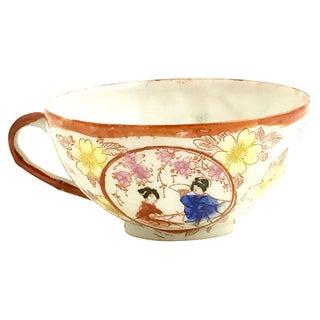 Japanese Geisha Porcelain Cup & Saucer Preview