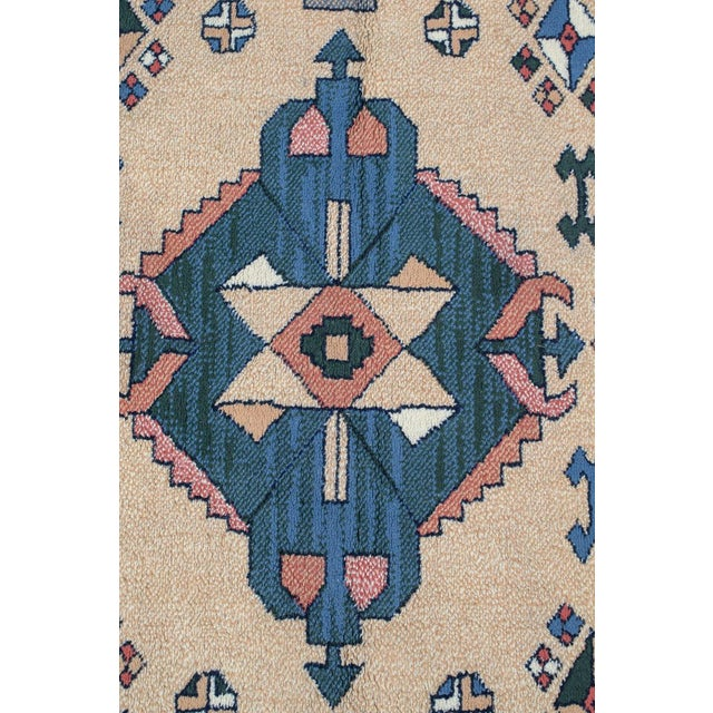 Aztec Style Rug - 5′6″ × 7′10″ For Sale - Image 4 of 9